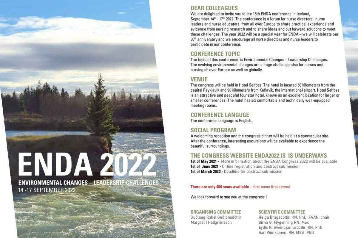 ENDA Congress flyer